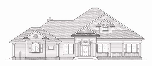 House Plan Small Home Design: Lakeland, Florida Architects: FL House Plans & Home Plans