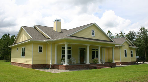 Waldo florida architects fl house plans home plans for Custom home plans florida