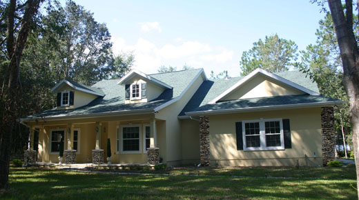 Newberry florida architects house plans home designs for Custom home plans florida