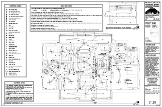 Custom House Plans, custom home plans, electrical layout, switches, outlets, light fixtures